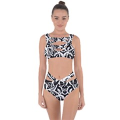 Braided Scotch 25 Years Bandaged Up Bikini Set