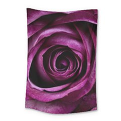 Plant Rose Flower Petals Nature Small Tapestry by Sapixe