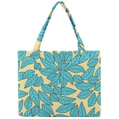 Leaves Dried Leaves Stamping Mini Tote Bag