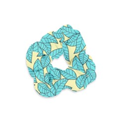 Leaves Dried Leaves Stamping Velvet Scrunchie by Sapixe