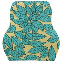 Leaves Dried Leaves Stamping Car Seat Velour Cushion  by Sapixe