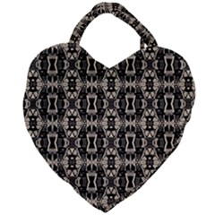 K 7 Giant Heart Shaped Tote