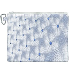 Fractal Art Artistic Pattern Canvas Cosmetic Bag (xxxl)