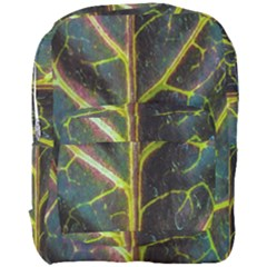 Leaf Abstract Nature Design Plant Full Print Backpack by Sapixe