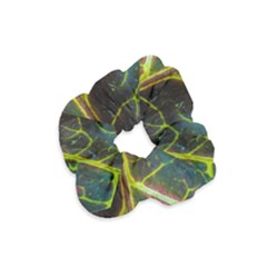 Leaf Abstract Nature Design Plant Velvet Scrunchie by Sapixe