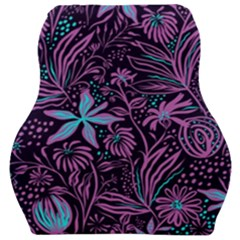 Stamping Pattern Leaves Drawing Car Seat Velour Cushion  by Sapixe