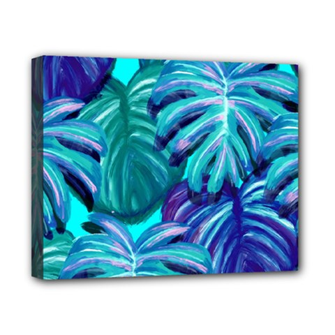 Leaves Tropical Palma Jungle Canvas 10  X 8  (stretched) by Sapixe