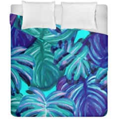 Leaves Tropical Palma Jungle Duvet Cover Double Side (california King Size)