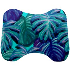 Leaves Tropical Palma Jungle Head Support Cushion