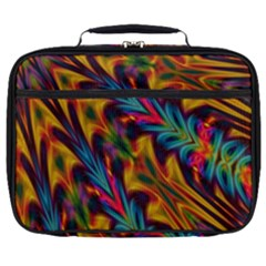 Background Abstract Texture Full Print Lunch Bag