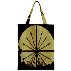 Window About Glass Metal Weathered Zipper Classic Tote Bag