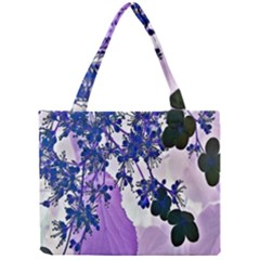 Blossom Bloom Floral Design Mini Tote Bag by Sapixe