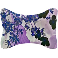 Blossom Bloom Floral Design Seat Head Rest Cushion by Sapixe