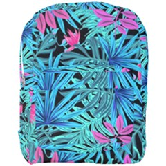 Leaves Picture Tropical Plant Full Print Backpack by Sapixe