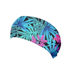 Leaves Picture Tropical Plant Yoga Headband