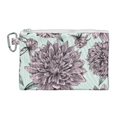 Flowers Flower Rosa Spring Canvas Cosmetic Bag (large)