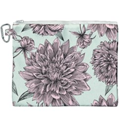 Flowers Flower Rosa Spring Canvas Cosmetic Bag (xxxl)
