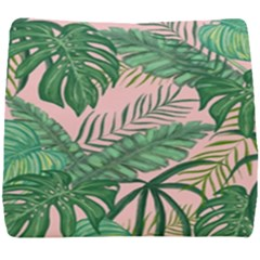 Tropical Greens Leaves Design Seat Cushion