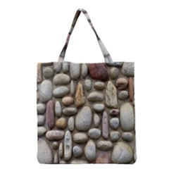 The Stones Facade Wall Building Grocery Tote Bag