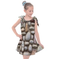 The Stones Facade Wall Building Kids  Tie Up Tunic Dress
