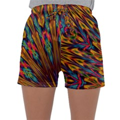 Background Abstract Texture Sleepwear Shorts