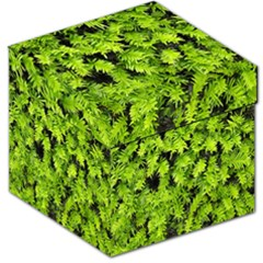 Green Hedge Texture Yew Plant Bush Leaf Storage Stool 12   by Sapixe