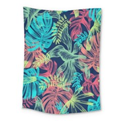 Leaves Tropical Picture Plant Medium Tapestry by Sapixe