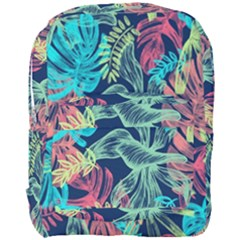 Leaves Tropical Picture Plant Full Print Backpack