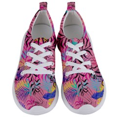 Illustration Reason Leaves Design Women s Lightweight Sports Shoes