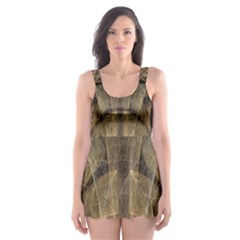 Fractal Art Graphic Design Image Skater Dress Swimsuit