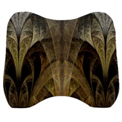 Fractal Art Graphic Design Image Velour Head Support Cushion