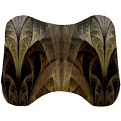 Fractal Art Graphic Design Image Head Support Cushion by Sapixe