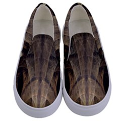 Fractal Art Graphic Design Image Kids  Canvas Slip Ons