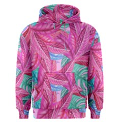 Leaves Tropical Reason Stamping Men s Pullover Hoodie