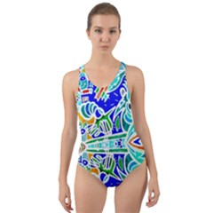 Its Not Fair Cut Out Back One Piece Swimsuit