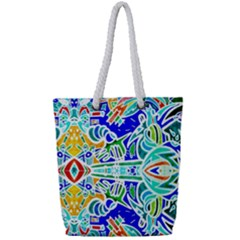 Its Not Fair Full Print Rope Handle Tote (small)