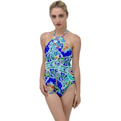 Its Not Fair Go With The Flow One Piece Swimsuit