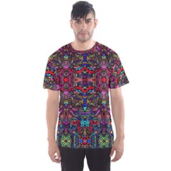 Color Maze Of Minds Men s Sports Mesh Tee