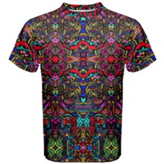 Color Maze Of Minds Men s Cotton Tee