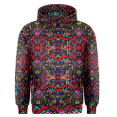 Color Maze Of Minds Men s Pullover Hoodie