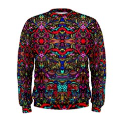 Color Maze Of Minds Men s Sweatshirt