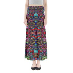 Color Maze Of Minds Full Length Maxi Skirt by MRTACPANS