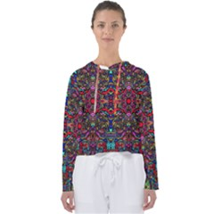 Color Maze Of Minds Women s Slouchy Sweat