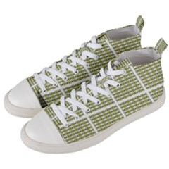 Daring 015v Men s Mid Top Canvas Sneakers by mowhi