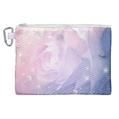 Wonderful Roses In Soft Colors Canvas Cosmetic Bag (xl) by FantasyWorld7