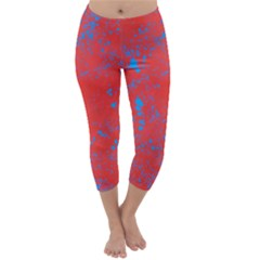 Blue Blood Capri Winter Leggings