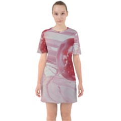 Red Dwarf Sixties Short Sleeve Mini Dress