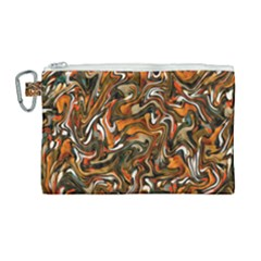 L 4 Canvas Cosmetic Bag (large) by ArtworkByPatrick1