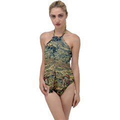 L 5 Go With The Flow One Piece Swimsuit