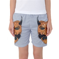 Mask India South Culture Women s Basketball Shorts